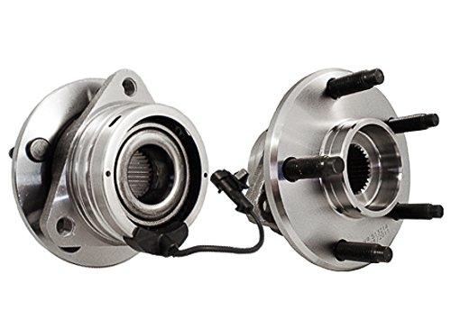 Callahan 513214X2 [2] Pair FRONT Premium Grade [ 5 Lug ABS ] Wheel Hub Bearing Assemblies [ 513214 ]