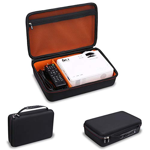 Mchoi Hard Portable Case for DR. J Professional HI-04 1080P Supported Portable Movie Projector(Case Only)