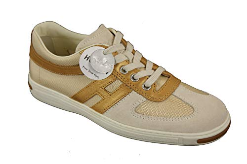 Hogan Damen Schuhe Campus Lace Up Sneakers (34.5 EU)