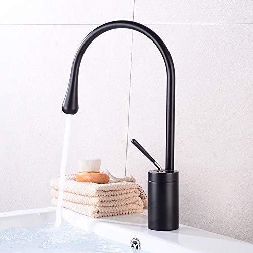 GYYlucky koper zwart uitneembare waterkraan wastafel warm en Ddo Sink Splash Faucet