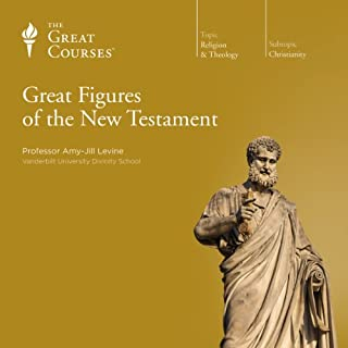 Great Figures of the New Testament                   Written by:                                                                                                                                 Amy-Jill Levine,                                                                                        The Great Courses                               Narrated by:                                                                                                                                 Amy-Jill Levine                      Length: 12 hrs and 18 mins     2 ratings     Overall 4.5