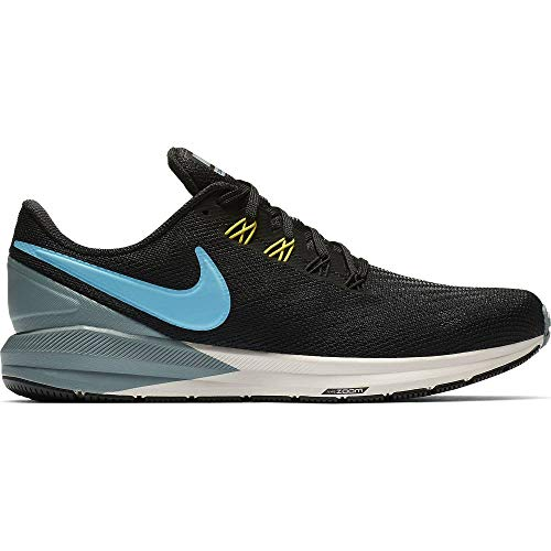 Nike Air Zoom Structure 22 (AA1636) black/aviator grey/bright citron/blue fury