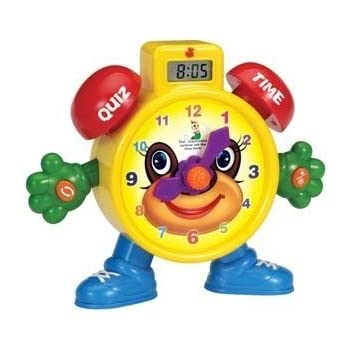 PowerTRC Tell The Time Electronic Learning Teach Time Clock Educational Toy | Education Toy | Learning Clock and Telling Time | Kids