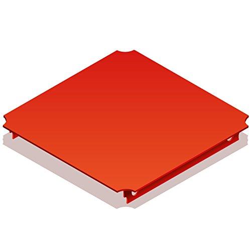 Quadro 00405 - Platte 40 x 40 cm rot