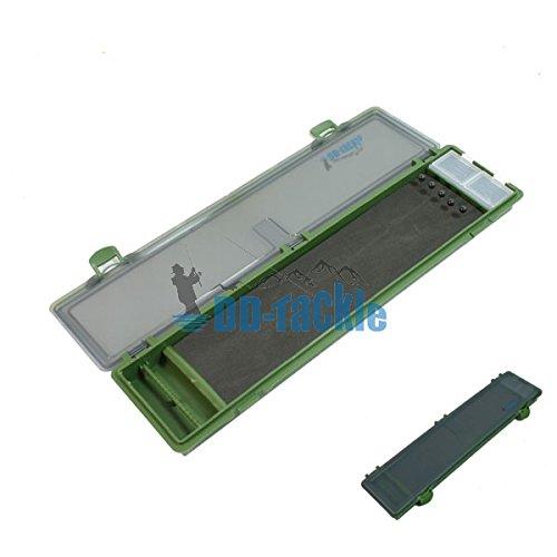 DD-Tackle 20 fach Stiff Rig Wallet Box Tackle Box Karpfen Vorfachtasche Rig Board Hakenbox