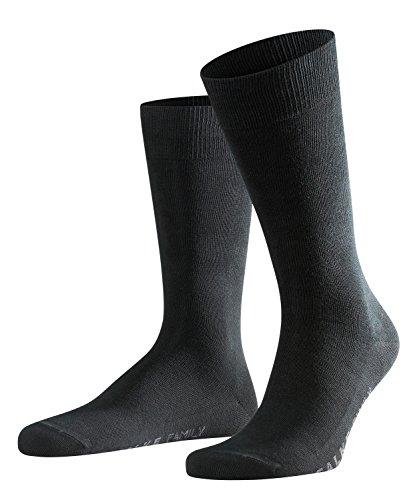 FALKE Herren Socken, Family M SO- 14645, Schwarz (Black 3000), 43-46