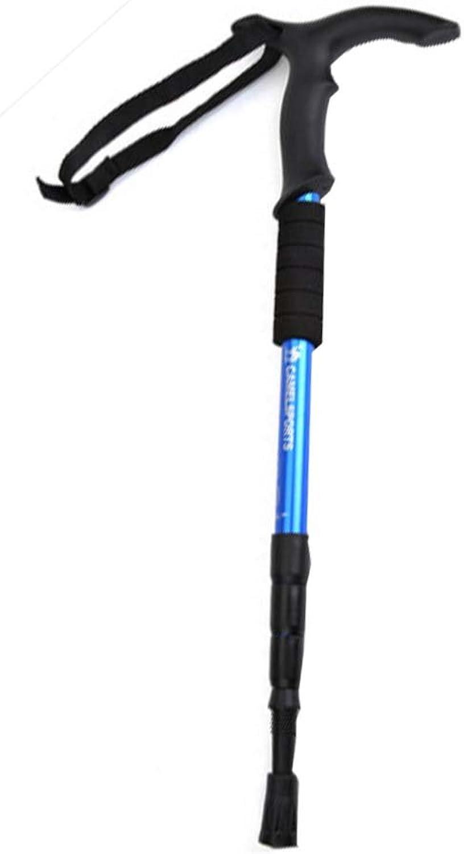 Adjustable Ultralight Hiking Stick Alpenstock