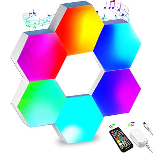 Hexagon Lights that Sync with Music
