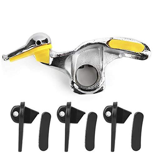 Birdlantern Desmontador de neumáticos, Montaje en Acero Inoxidable para desmontaje de neumáticos de automóvil Accesorios de Cabeza de Pato con Almohadillas de protección(30mm)