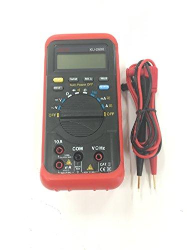 kaise カイセ ハンディタイプ デジタルマルチメーター 限定色:赤 KU-2600-RED
