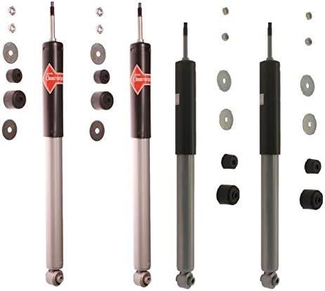 特価キャンペーン KYB Gas-a-just Front and Rear 卸売り Shock Absorbers For C Kit Chrysler