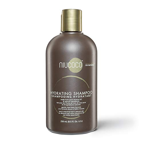NIUCOCO | All-Natural Hydrating Coconut Oil Shampoo | 100%...