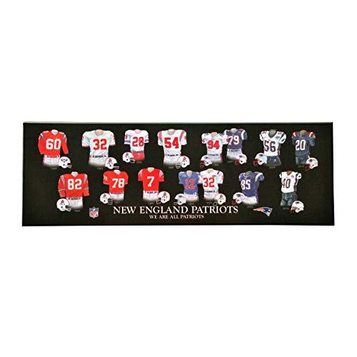 Winning Streak NFL New England Patriots 'Legacy Uniform Collection' Plaque, Black, One Size