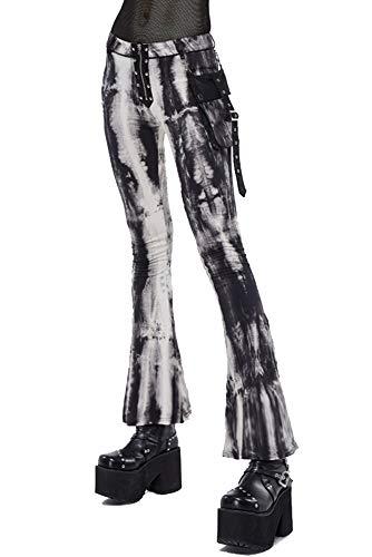 Leggings Womens Steampunk Punk Digitale Print Kosmische Galaxy Stretch Flared Retro Panty voor Casual met Pocket Grote Maat