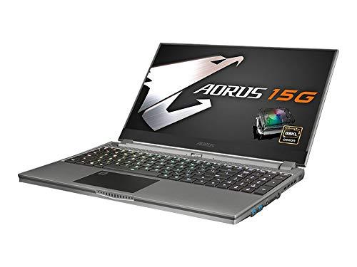 Gigabyte AORUS 15G Gaming Laptop - 15,6' FHD IPS 240Hz, Intel i7-10875H, 16GB RAM, 512GB SSD, GeForce RTX 2080 Super Max-Q, Windows 10