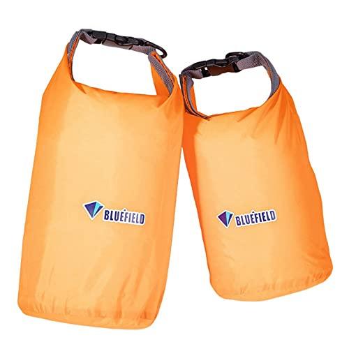 EFINNY Bolsas secas Impermeables, 2pcs Bolsas de Almacenamiento livianas, Bolsa de Snorkeling Saco seco Bolsa Impermeable para Kayak, Rafting, navegación, natación