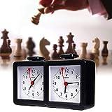 Reloj De Ajedrez, Juego De Juegos De Mesa Analógica Temporizador, Reloj De Ajedrez Digital Compacto Profesional, Cuenta Regresiva del Juego Preciso, Regalo Profesional Portátil