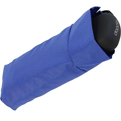Doppler Regenschirm Mini Taschenschirm Handy (blau)