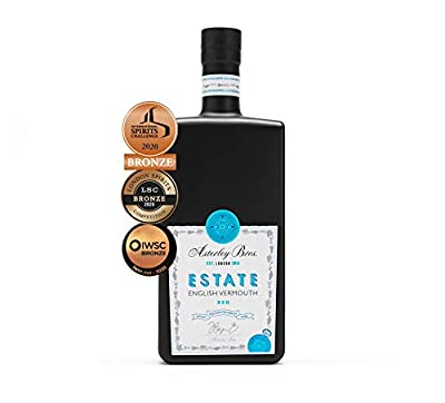 Sweet Vermouth - ESTATE by Asterley Bros - English Pinot Noir Vermouth For Negronis, Manhattans and Aperitivo - 500ml