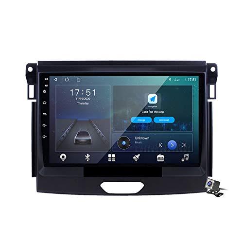 Buladala Android 10 Autoradio Stereo GPS Navigatore 2 DIN con 9' Schermo per Ford Ranger 2015 Supporto FM AM RDS DSP/Controllo del Volante/Carplay Android Auto/BT Vivavoce,M500