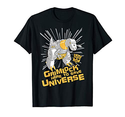 Transformers Grimlock Here To Save Universe T-Shirt