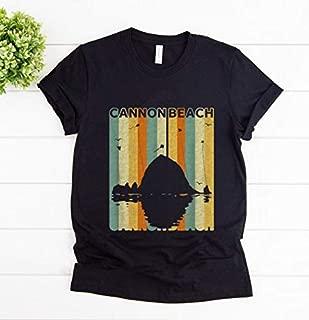 Womens Halloween T Shirt, Official Vintage Cannon Beach Shirt, Custom Print All Styles Of Short Sleeved T-Shirt, Long Sleeved Shirt, Hoodies, Tank Top