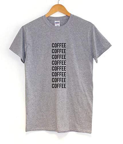 MIALIFEX What Would Blair Waldorf Do! Camiseta de manga corta de algodón para mujer Gris gris S