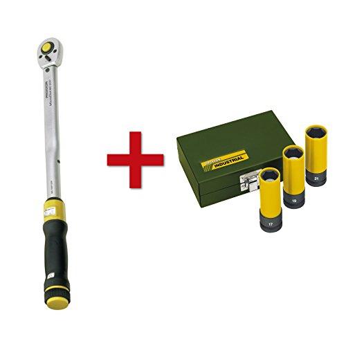 Proxxon Drehmomentschlüssel MicroClick MC 200, 40-200 Nm, 1/2