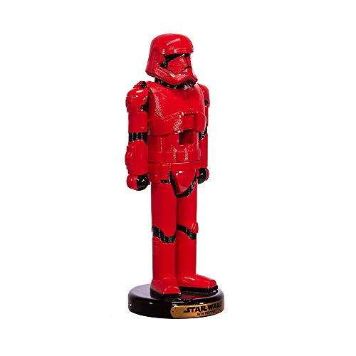 STAR WARS Kurt S. Adler 10-Inch Red Sith Trooper Nutcracker, Multi