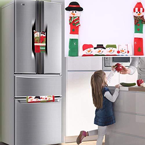 Angelay-Tian 3 en Las manija de la Puerta 1Refrigerator, eléctricos de Cocina...