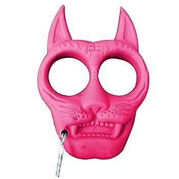 TAKE FANS Sourcingmap Porte-clés portable en plastique en forme de tigre Rouge