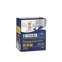 ボジータ チキン&ライス ウェットフード ナチュラル 仔犬・成犬・高齢犬用 全犬種用 370g×16個