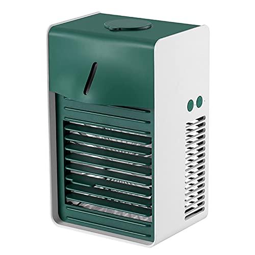 YUWEX 3 In 1 Mini Mobile Klimageräte Mini Klimaanlage mit Nebel Persönliche Luftkühler Luftbefeuchter Luftreiniger USB Aufladen Persönliche Luftkühler für Zuhause und Büro Outdoor