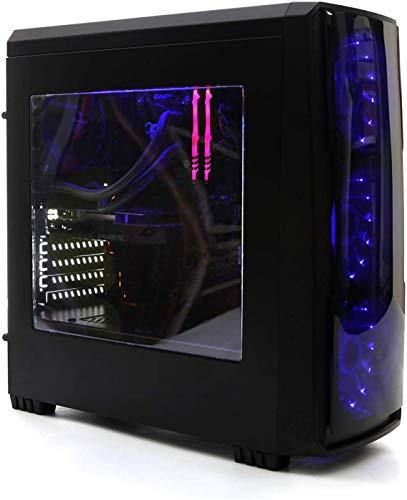 DeepGaming Antrax-S - Ordenador gaming de sobremesa (AMD Ryzen 5 3600, 8GB RAM, 240GB SSD + 1TB HDD, Nvidia GTX1650 4GB GDDR5, Sin Sistema Operativo) Color Negro