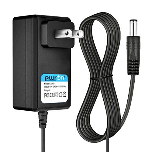 PwrON 6.6 FT Long 12V 2.5A AC to DC Power Adapter Charger for Auvio Bluetooth Speaker Cat.No.:4000437