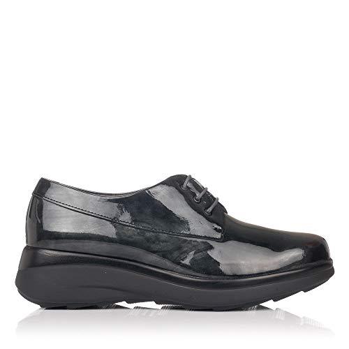PITILLOS 5830 Zapato Cordones Charol Mujer Gris 40