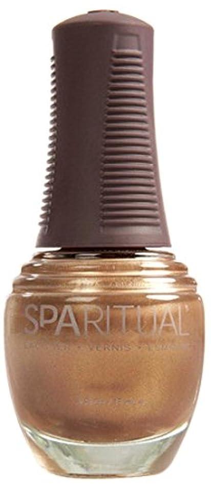 官僚小競り合いセレナSpaRitual スパリチュアル ネイルラッカー ゴールド ディガー15ml #80128