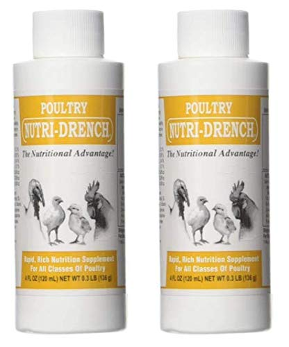 Bovidr Laboratories P-4 OZ Poultry Nutri-Drench Pack of 2 (2)