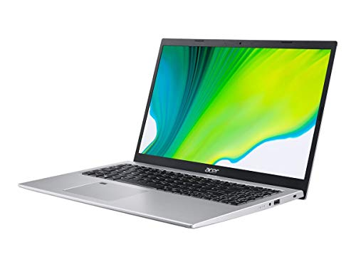 Acer Aspire 5 A515-56-59RW Notebook Silver 39.6 cm (15.6') 1920 x 1080 pixels Intel Core i5-11xxx 8 GB DDR4-SDRAM 512 GB SSD Wi-Fi 6 (802.11ax) Windows 10 Home Aspire 5 A515-56-59RW, Intel