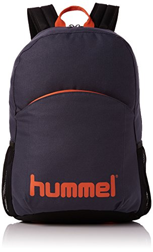 Hummel Authentic Back Pack Rucksack, Ombre Blue/Nasturtium, 44 x 19 x 30 cm