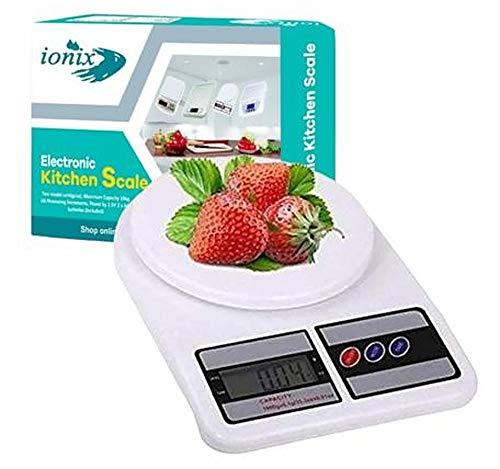 Ionix Digital kitchen weighing scale , weight machine for...