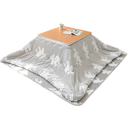 Tables chauffante Pliante Japonaise chauffante au Sol pour Salon Basse chauffante pour Chambre à Coucher Basse Plaque chauffante chauffante pour Jambes au Pied Pieds au Chaud