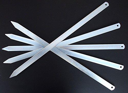 KD 6X BBQ Grillspieße Spieße Adana Urfa Sis Hackfleischspieße/LxB : 50cm x 2cm/ lebensmittelecht/leichte Reinigung