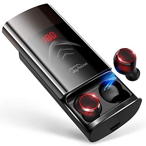 【2019最新イヤホン 260時間再生 LEDディスプレイ】Bluetooth イヤホン 自動ペアリング 完全ワイヤレス イヤホン Hi-Fi 高音質 ブルートゥース イヤホン IPX7防水 Bluetooth5.0 音量調整 両耳通話 Siri対応 技適認証済 iPhone/iPad/Android対応