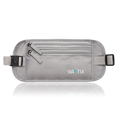 Travel Money Belt With RFID Transmissions –Secure, Hidden Travel Wallet 2020 NEW STYLE + packing list pad