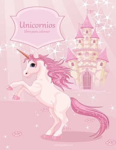 Unicornios libro para colorear 1