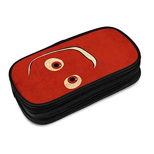 Buscando Nemo Pencase cajas de gran capacidad para bolígrafos con cremallera para marcadores escolares, organizador de escritorio, gran almacenamiento suministros de oficina papelería