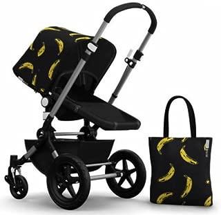 Bugaboo Cameleon 3 Stroller With Andy Warhol Fabric (Aluminum Frame, Banana/Black)