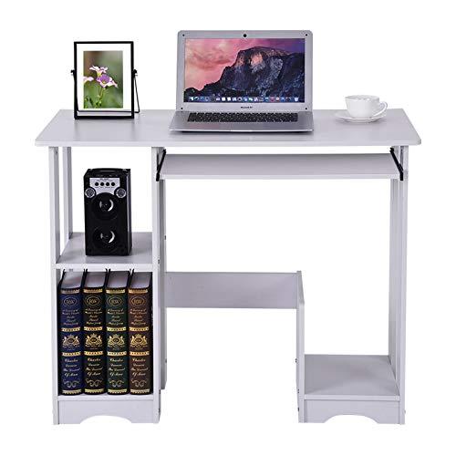 BXzhiri Modern Minimalist Computer Desk, Desktop Home Computer Workstations, Creative Desk Writing Desk for Home Office 90×48×72cm/35.4×18.9×28.3in
