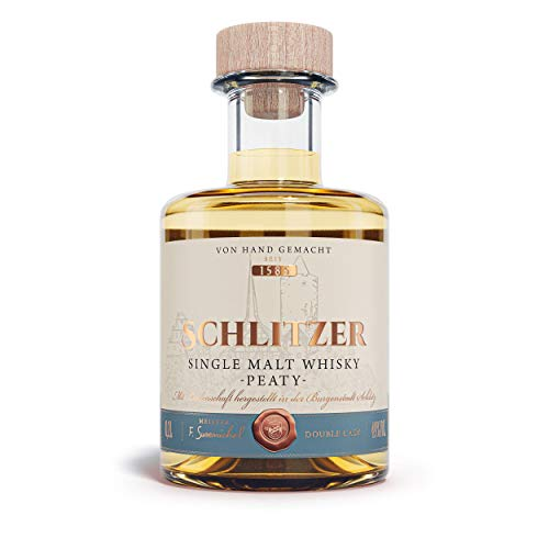 Schlitzer Single Malt Whisky peaty (1 x 0.2l)